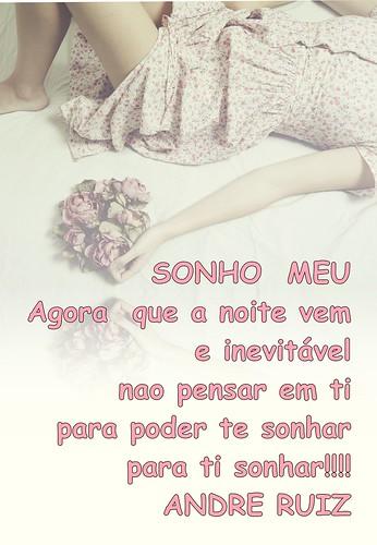 SONHO MEU by amigos do poeta