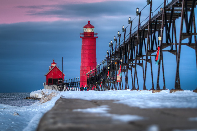Grand Haven Winter 2013