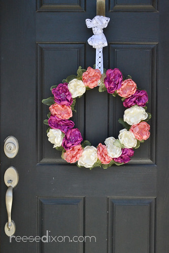 Singed Flower Wreath