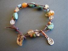 linen bracelet c