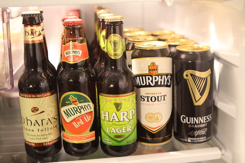 Irish Beer Selection