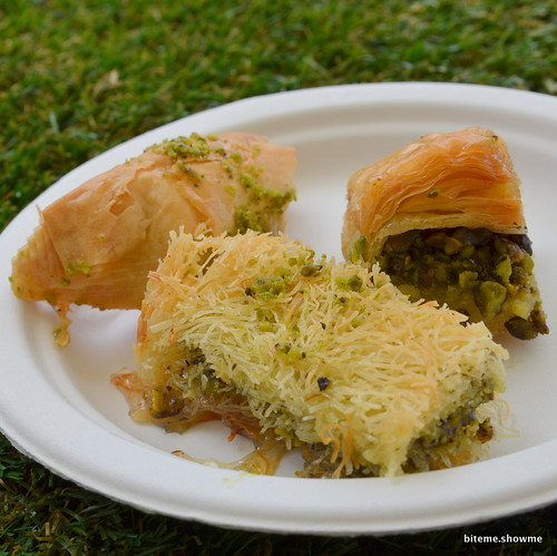 Taste of Sydney - Efendy - Trio of Baklava