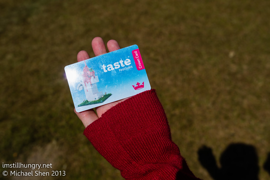 Taste of Sydney crown card