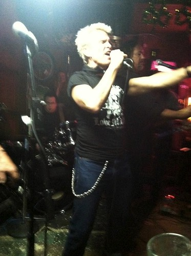 Billy Idol Hinano Cafe, Venice Beach: 3-17-13