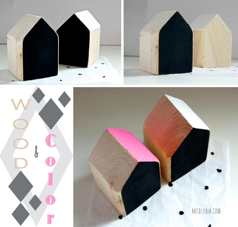 legno e colore casette decorative