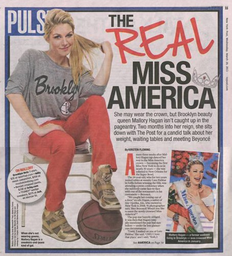 Miss America New York Post Pulse