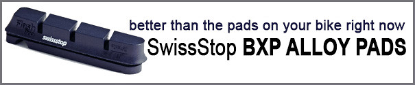 New Alloy pads from Swissstop -