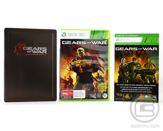 Gears of War Judgment EB Games Special Edition Unboxing