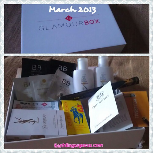 Inside the March 2013 Glamourbox