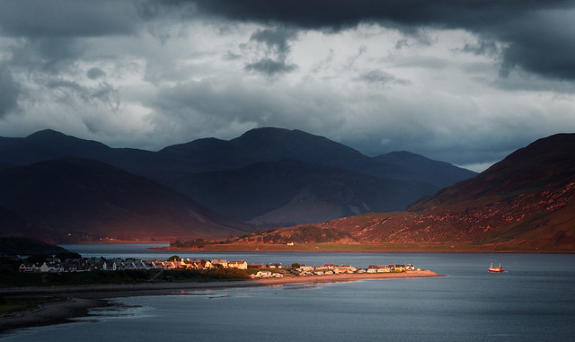 Sunset Over Ullapool