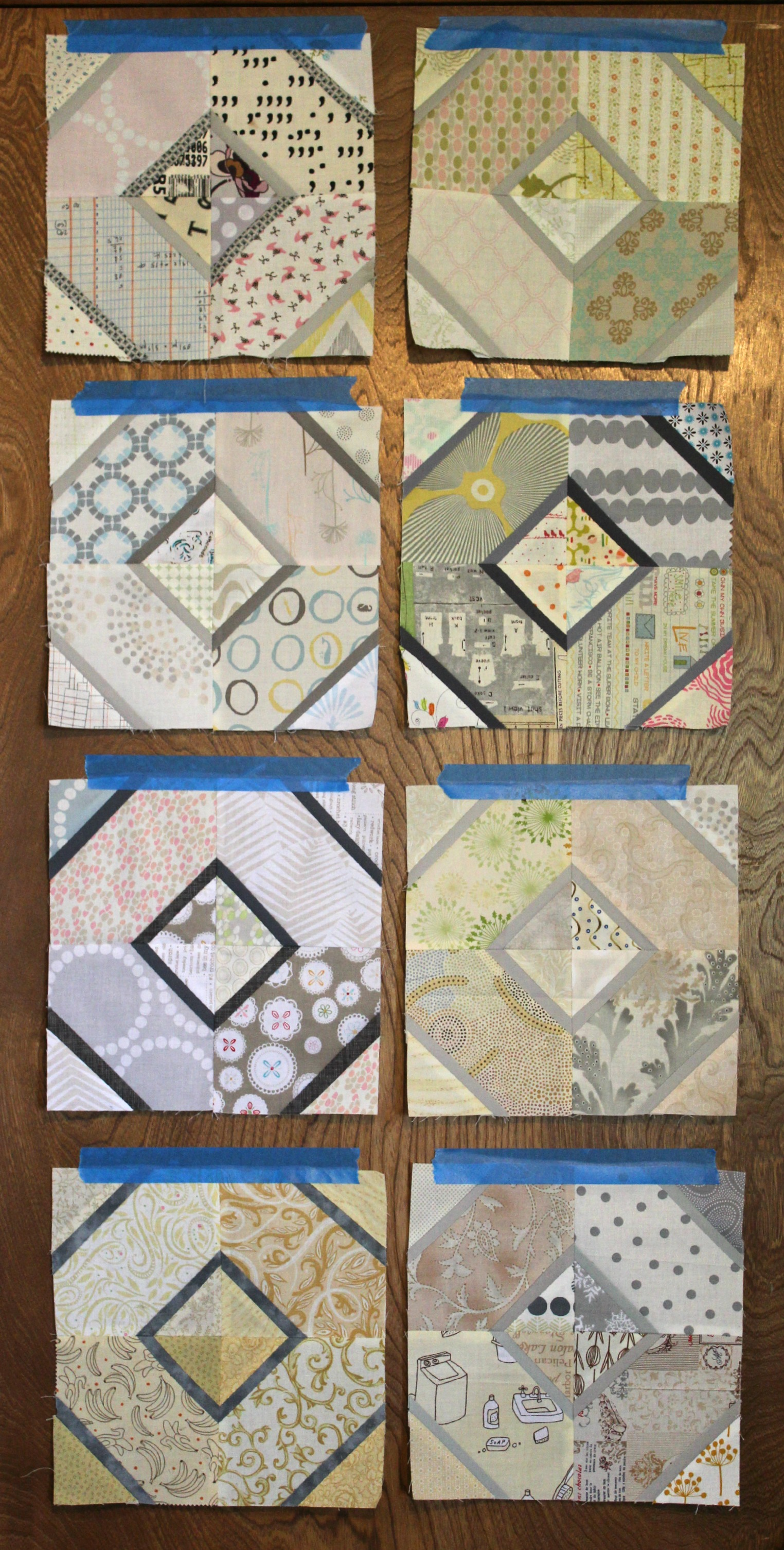 Hugs & Kisses blocks 1-8