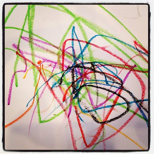 My little Picasso loves his oil pastels. by SincerelyStacy