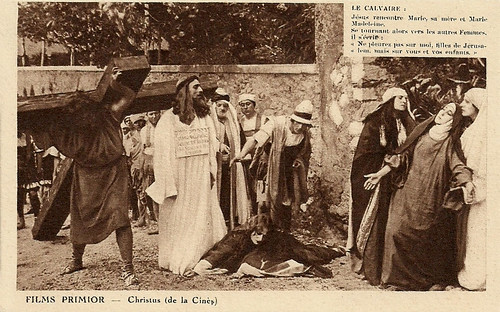 Christus (1916) towards Mount Calvary and the Crucifixion