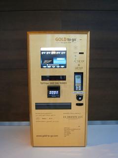 Distributeur automatique d'or