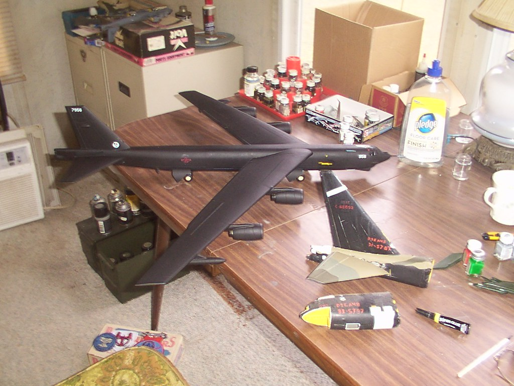 the official in the buff b52 group build finescale modeler