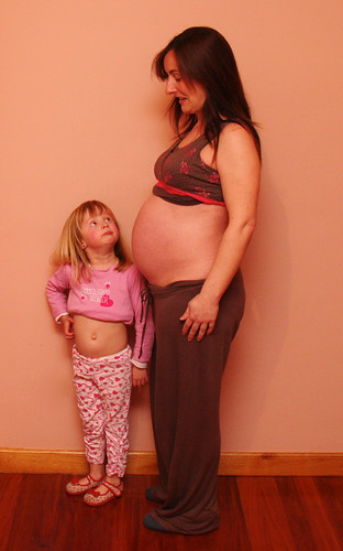 Eight Months Pregnant
