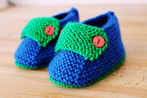 moccasins blue-green
