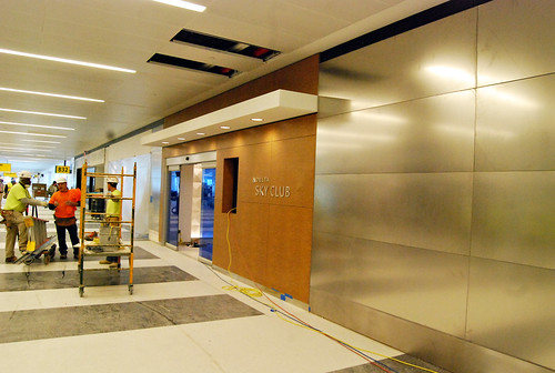 Entrance to Sky Club