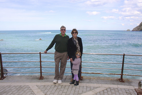 Grandparents and The Sea