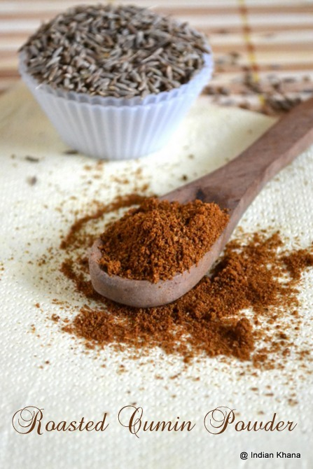 Homemade Cumin Powder