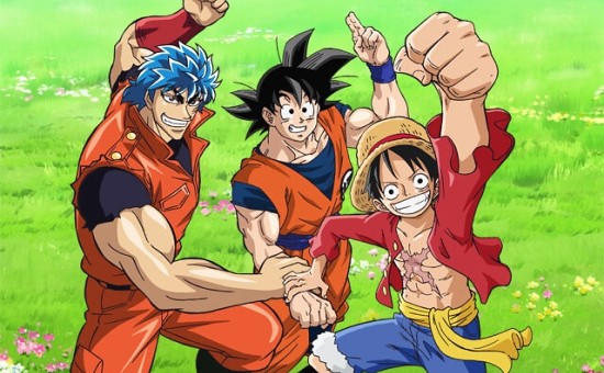 Primeiros Trailers do Especial de One Piece, DBZ e Toriko