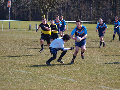PUMAS UNDER 13S FIRST GAME