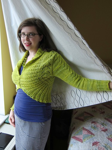 My Spring Green Georgina Cardigan