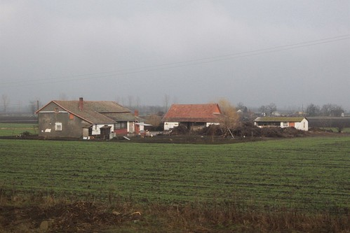 Hungarian farm house outside Gyomaendrőd