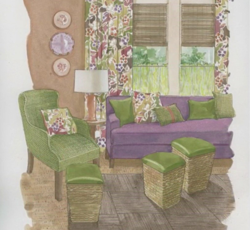 Room for Style: Decorating with a Triad Color Scheme