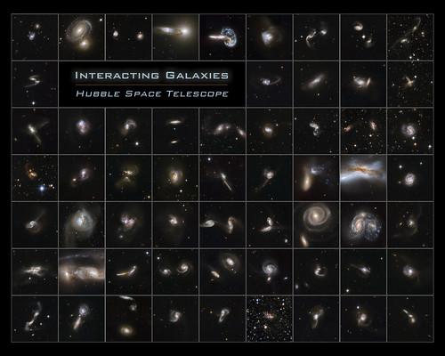 Hubble - Interacting Galaxies