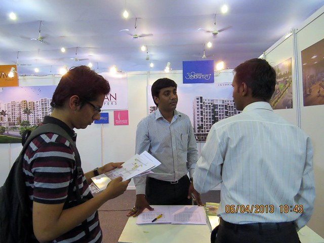 Nirman Developers' Brookfield Willows Pisoli Pune - Maharashtra Times Pune Property Show April 2013