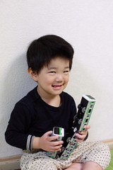 ニヤリとらちゃん 2013/4/7