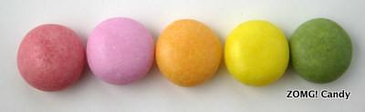 Mentos Rainbow flavors
