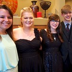 Taylor, Morgan, Hope and Rodney, Prom night, April 06, 2013