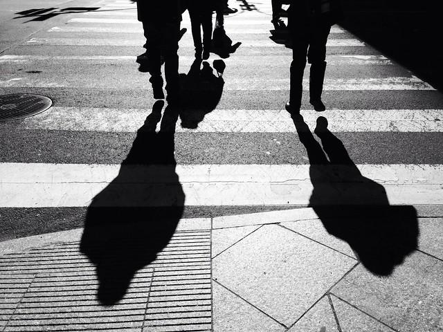 Sombras en la ciudad (iPhone 5)
