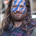 Tartan Day Parade NYC 2013 Facepaint
