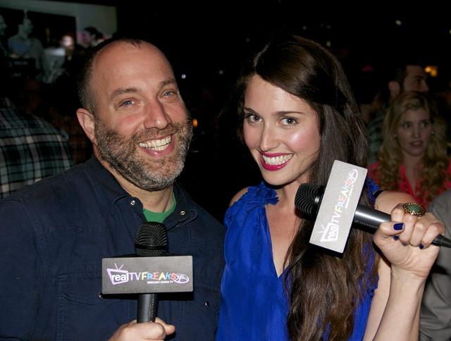 Fuzzy Josh, Traci Stumpf, RealTvFREAKS, Awards Party, LA Comedy Shorts Film Festival 2013