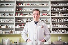 Dominic Dussault, doctorant en biologie à l'INRS
