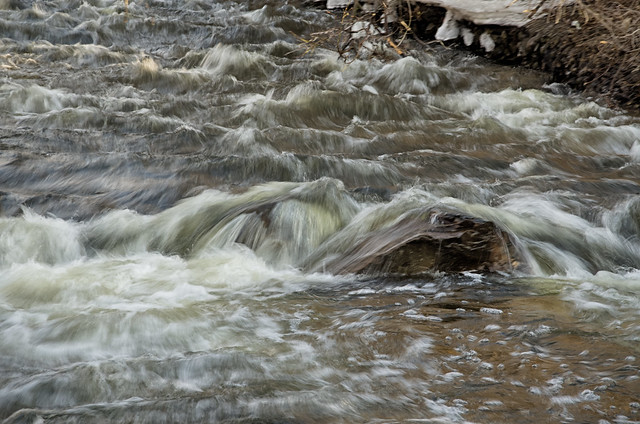 Fast Flowing Creek