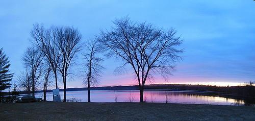 dalhousielake lanarkcounty ontario sunset panorama autostitch nikon canada landscape lake sky