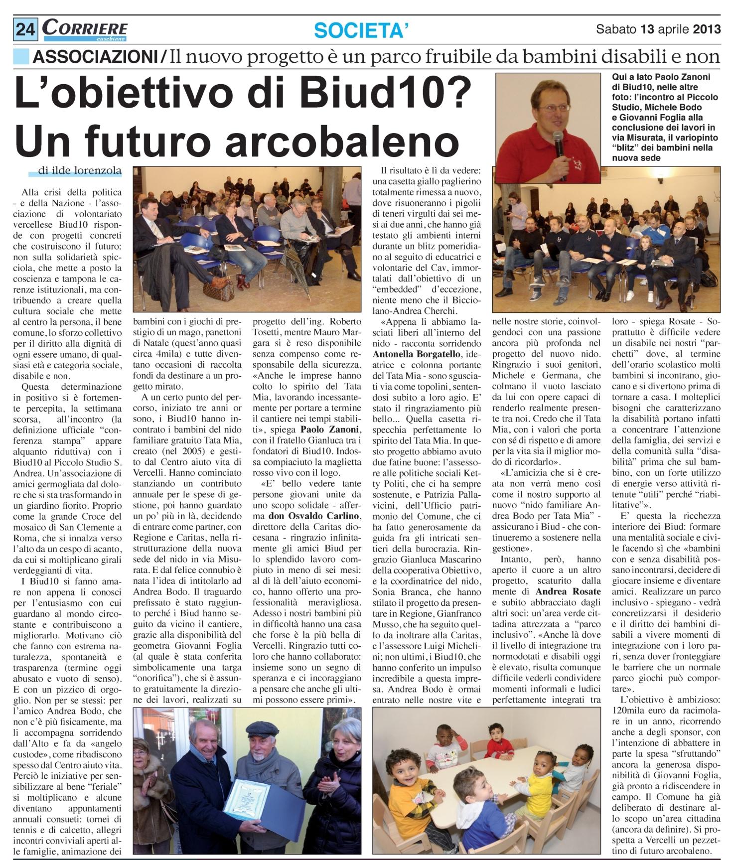 Corriere Eusebiano 13-04-2013