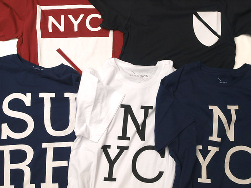 Saturdays Surf NYC / Graphic T-Shirts