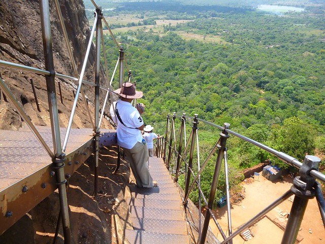 Stairs of Sigiriya