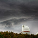 Stormy Skies at McDonald Observatory