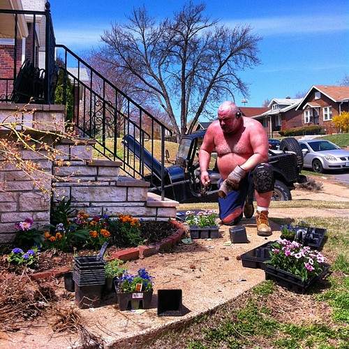 gardening...another use for kneepads