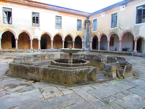 Monastère du 15ème siècle à Setúbal, PORTUGAL
