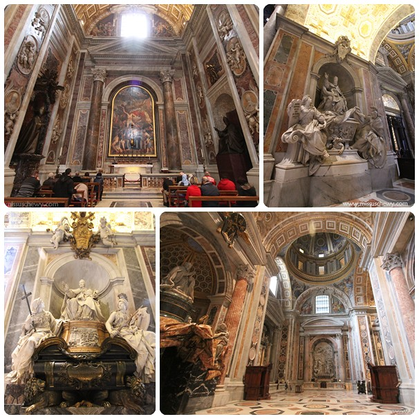 St Peter's Basilica collage