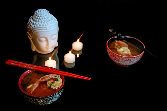 Sopa Thai de Langostinos 114