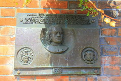 Photo of Peter the Great bronze plaque