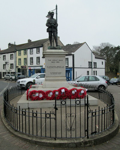 Egremont War Memorial, Cumbria
